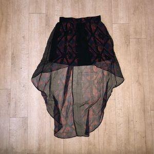 High low Skirt ~ good condition ~